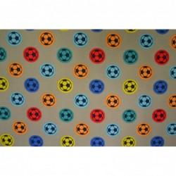 Färgglad fotboll