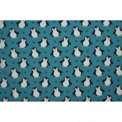 Små pingviner PETROL-GRÖN