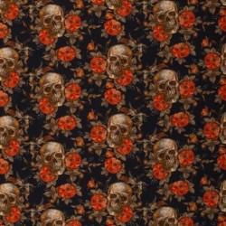 Dödskallar o blommor