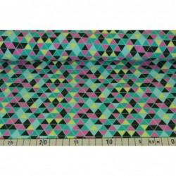 Färgglatt triangelmönster