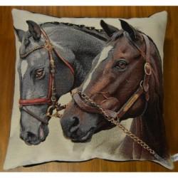 Kuddfodral 2 hästar
