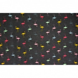 Små färgglada flamingos
