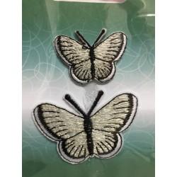 Silver fjärilar