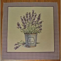 Kuddfodral lavendel BEIGE