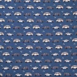 Bilar på BLÅTT