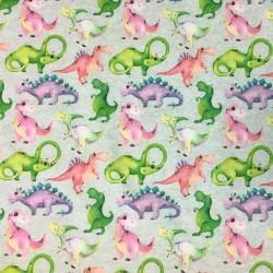 Färgglada dinosaurier
