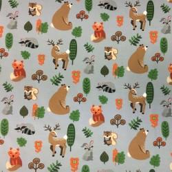 Djur i skogen GRÅ