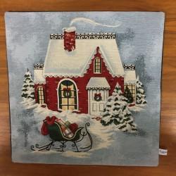 Jul-besök MÖRKBLÅ