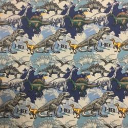 Dinosaurier T-REX BLÅ