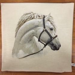 Vit häst LJUSGRÅ