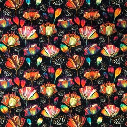 Färgsprakande blom