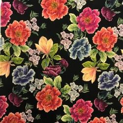 Stor färgglad blom