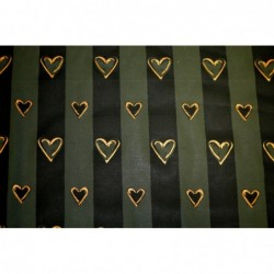 Grön hjärt-rand