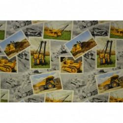 Gula grävmaskiner 5