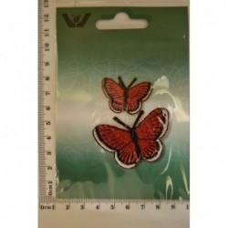 Röda fjärilar